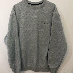 NIKE Grey Sweatshirt Large